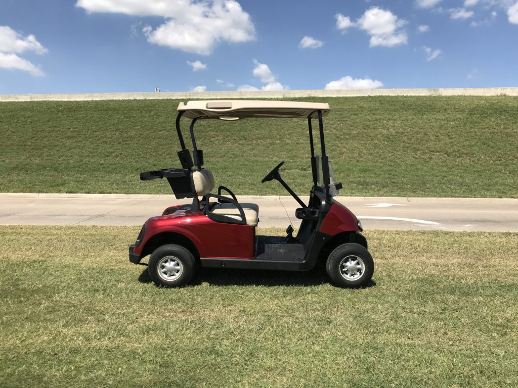 2013 EZGO RXV ELECTRIC INFERNO RED