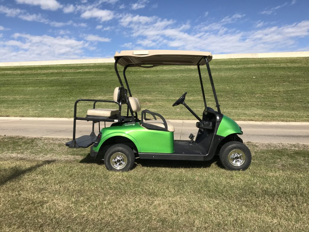2013 EZGO RXV ELECTRIC MONSTER GREEN
