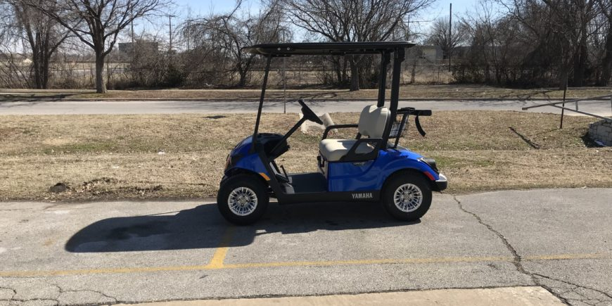 2019 Yamaha Drive2 EFI Gas Aqua Blue