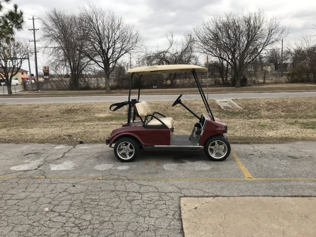 1996 Club Car DS Electric 48V Red
