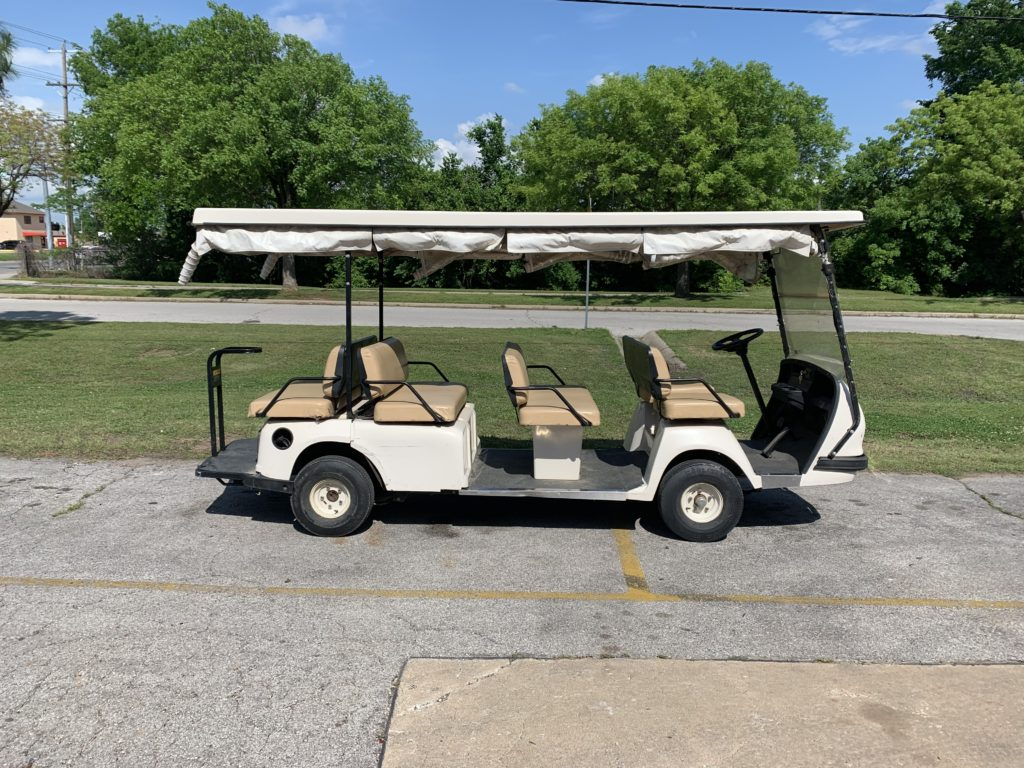 2003 EZGO SHUTTLE ELECTRIC