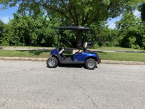 2019 EZGO RXV ELITE 2.0 LITHIUM ION BATTERY ELECTRIC BLUE