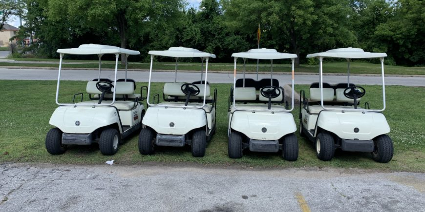 2006/2007 Yamaha Gas Golf Cars